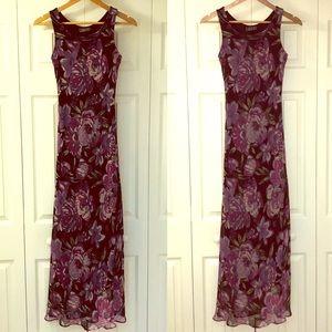 ✔️City Triangles floral maxi dress